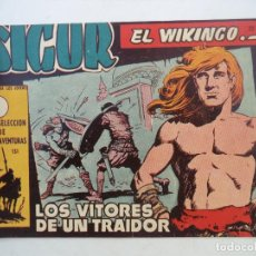 Tebeos: SIGUR EL VIKINGO Nº22 ORIGINAL. Lote 150569882
