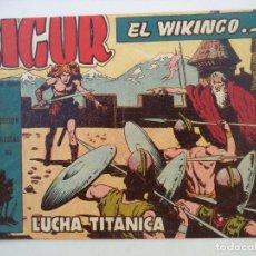 Tebeos: SIGUR EL VIKINGO Nº 23 ORIGINAL. Lote 150570454