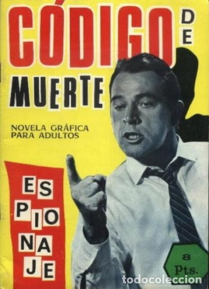 ESPIONAJE - Nº 24 -CÓDIGO DE MUERTE -INTERESANTE JORGE BADIA-1966- REGULAR- ESCASO-LEAN-0210 (Tebeos y Comics - Toray - Espionaje)