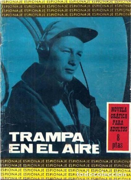 ESPIONAJE - Nº 29 -TRAMPA EN EL AIRE- MUY NOTABLE JESÚS DURÁN-1966-BUENO- ESCASO-LEAN-0211 (Tebeos y Comics - Toray - Espionaje)