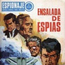 Tebeos: ESPIONAJE - Nº 61 -ENSALADA DE ESPÍAS - GRAN JOSEP GUAL-1967-BUENO- ESCASO-DIFÍCIL-LEAN-3888. Lote 221150443