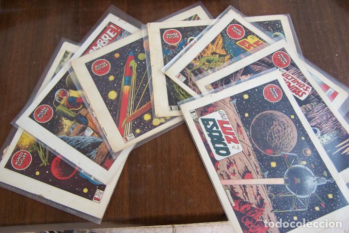 Tebeos: lote mundo futuro, 100 nº, fotos individual de 104 incluido los almanaques - Foto 176 - 132716850