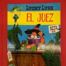Tebeos: LUCKY LUKE. EL JUEZ. COMIC TAPA DURA. EDITORIAL TORAY 1964. Lote 150796654