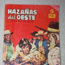 Tebeos: COLECCION HAZAÑAS DEL OESTE Nº57. Lote 150799086