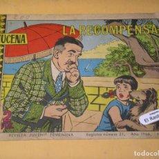 Tebeos: AZUCENA Nº 978, ED. TORAY, TEBEO DE CHICAS, ROMÁNTICO, ERCOM. Lote 150825018