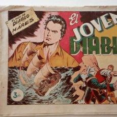 Tebeos: EL HIJO DEL DIABLO DE LOS MARES ORIGINAL ALBUM Nº 3 - 1950 TORAY - BOIXCAR - HU. Lote 150840270
