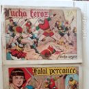 Tebeos: FLECHA NEGRA ORIGINALES , ALBUM NºS 5 Y 6 - 1950 TORAY - DIBUJOS DE BOIXCAR - HU. Lote 150840710