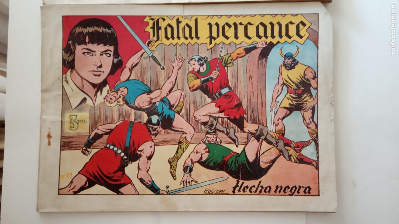 Tebeos: FLECHA NEGRA ORIGINALES , ALBUM NºS 5 Y 6 - 1950 TORAY - DIBUJOS DE BOIXCAR - HU - Foto 2 - 150840710