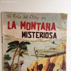 Tebeos: EL TRIO DEL AIRE ORIGINAL Nº 4 - SELECCIÓN DE AVENTURAS EDI. TORAY 1954 - DIBUJO JULIO VIVAS - HU. Lote 150841254