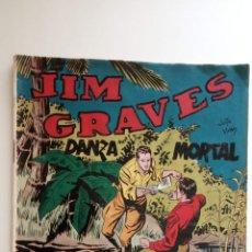 Tebeos: JIM GRAVES ORIGINAL Nº 24 SELECCIÓN DE AVENTURAS TORAY - JULIO VIVAS DIBUJOS - HU. Lote 150842462
