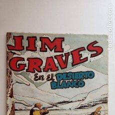 Tebeos: JIM GRAVES ORIGINAL Nº 38 - SALECCIÓN DE AVENTURAS TORAY - DIBUJOS JULIO VIVAS - HU. Lote 150842534