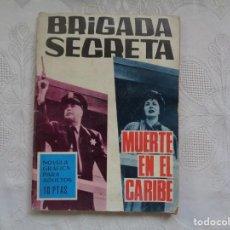Tebeos: S. DULCET. MUERTE EN EL CARIBE. 1966. DIBUJOS: P. BERTRÁN. . Lote 150984954