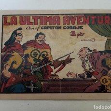 Tebeos: EL CAPITAN CORAJE. Nº 42. LA ULTIMA AVENTURA. TORAY.. Lote 151160806