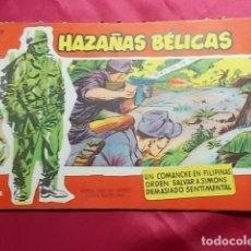 Tebeos: HAZAÑAS BELICAS. Nº 28 . SERIE ROJA. EDICIONES TORAY. Lote 151173974