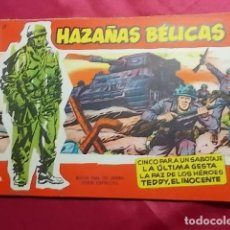 Tebeos: HAZAÑAS BELICAS. Nº 27 . SERIE ROJA. EDICIONES TORAY. Lote 151174010