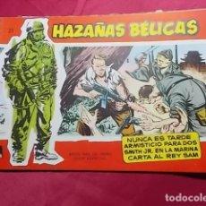 Tebeos: HAZAÑAS BELICAS. Nº 23 . SERIE ROJA. EDICIONES TORAY. Lote 151459898