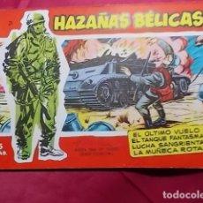 Tebeos: HAZAÑAS BELICAS. Nº 21 . SERIE ROJA. EDICIONES TORAY. Lote 151460170