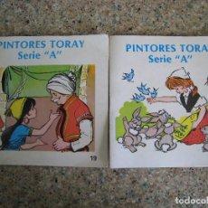 Tebeos: PINTORES TORAY SERIE A Nª 19 Y 20. AÑO 1.980. Lote 151478602