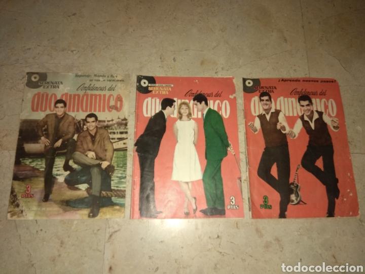 LOTE 3 EJEMPLARES SERENATA EXTRA - CONFIDENCIAS DEL DUO DINAMICO - UNA CON MARISOL - (Tebeos y Comics - Toray - Otros)