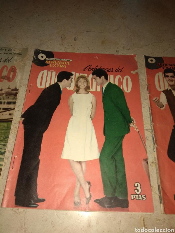 Tebeos: Lote 3 Ejemplares Serenata Extra - Confidencias del Duo Dinamico - Una con Marisol - - Foto 3 - 151854733
