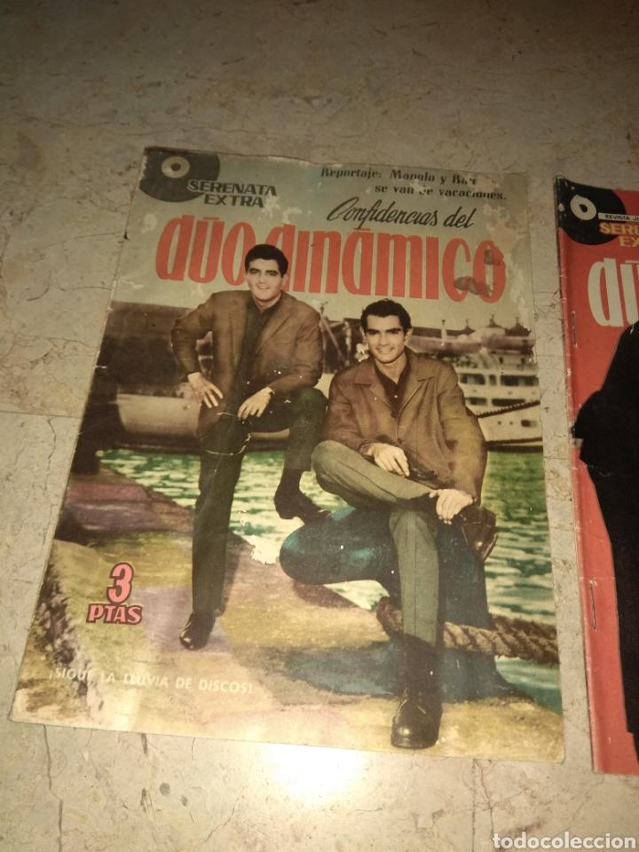 Tebeos: Lote 3 Ejemplares Serenata Extra - Confidencias del Duo Dinamico - Una con Marisol - - Foto 4 - 151854733
