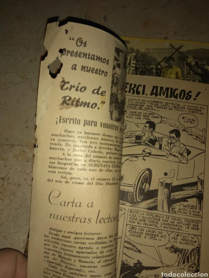 Tebeos: Lote 3 Ejemplares Serenata Extra - Confidencias del Duo Dinamico - Una con Marisol - - Foto 5 - 151854733