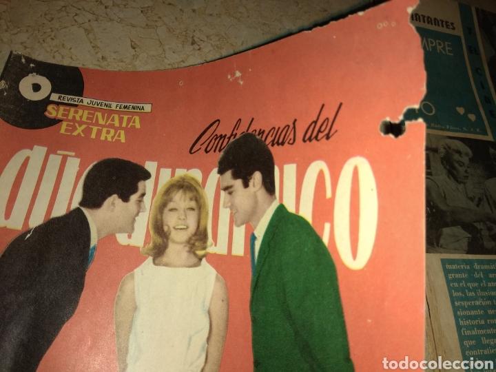 Tebeos: Lote 3 Ejemplares Serenata Extra - Confidencias del Duo Dinamico - Una con Marisol - - Foto 6 - 151854733