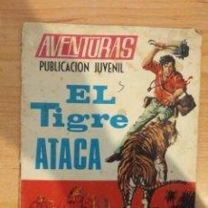 Tebeos: EL TIGRE ATACA. TORAY. RAMÓN ORTIGA. JORGE NABAU. ANTONIO BORRELL. Lote 151901490