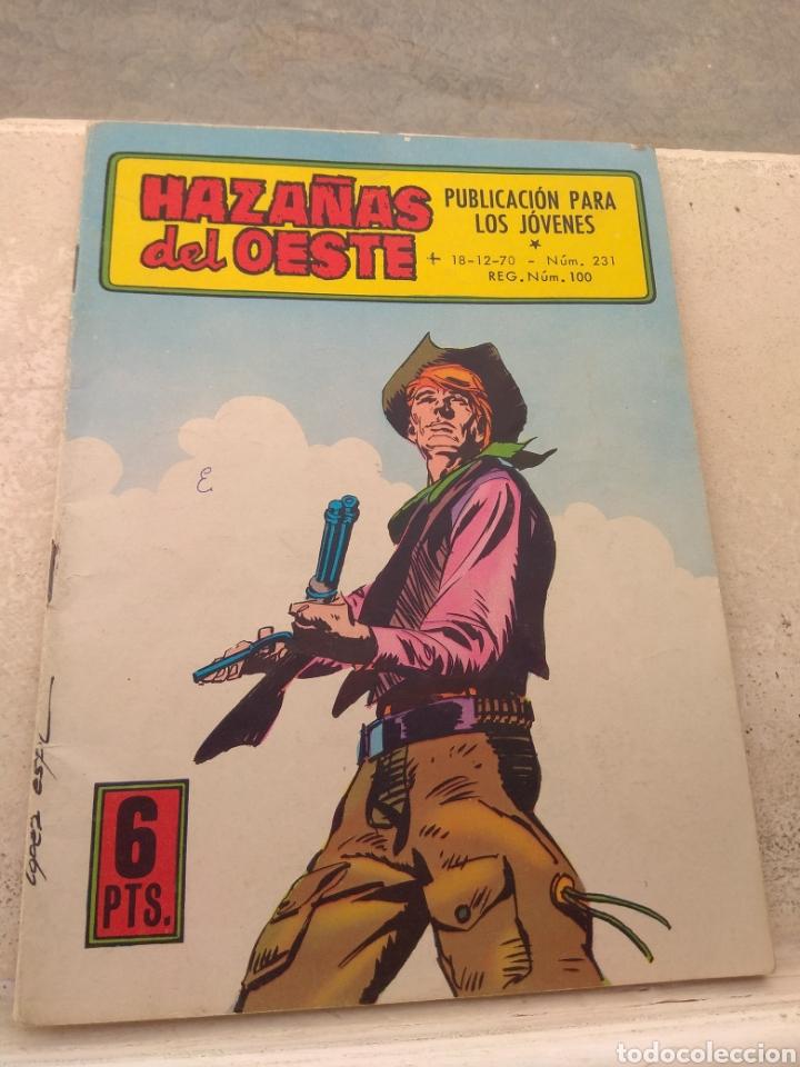 HAZAÑAS DEL OESTE N°231- EDICIONES TORAY - (Tebeos y Comics - Toray - Hazañas del Oeste)