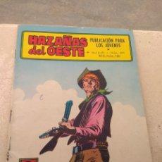 Tebeos: HAZAÑAS DEL OESTE N°231- EDICIONES TORAY -. Lote 152315172
