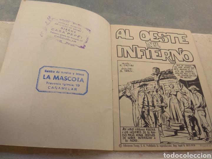 Tebeos: Hazañas del Oeste N°231- Ediciones Toray - - Foto 3 - 152315172