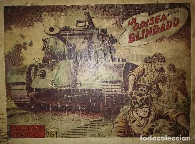 HAZAÑAS BÉLICAS 25 NUMEROS ENCUADERNADOS DEL 76 AL 100 MAS ALMANAQUE 1954 QUE ESTA DELANTE (Tebeos y Comics - Toray - Hazañas Bélicas)