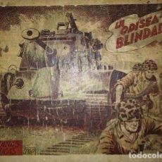 Tebeos: HAZAÑAS BÉLICAS 25 NUMEROS ENCUADERNADOS DEL 76 AL 100 MAS ALMANAQUE 1954 QUE ESTA DELANTE. Lote 115144015