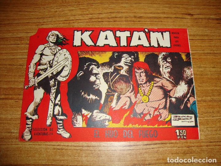 KATAN Nº 10 EDICIONES TORAY ORIGINAL (Tebeos y Comics - Toray - Katan)