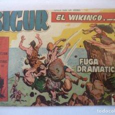 Tebeos: SIGUR EL VIKINGO Nº 4 ORIGINAL . Lote 152429798