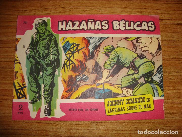 HAZAÑAS BELICAS ORIGINAL Nº 291 (Tebeos y Comics - Toray - Hazañas Bélicas)