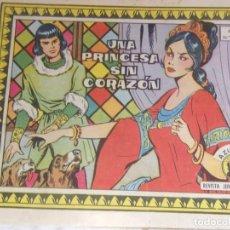 Tebeos: REVISTA JUVENIL FEMENINA AZUCENA AÑO XIX NÚM. 803- UNA PRINCESA SIN CORAZÓN. Lote 152592038