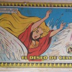 Tebeos: REVISTA JUVENIL FEMENINA AZUCENA NÚM. 791 - EL DESEO DE CELIA. Lote 152592406