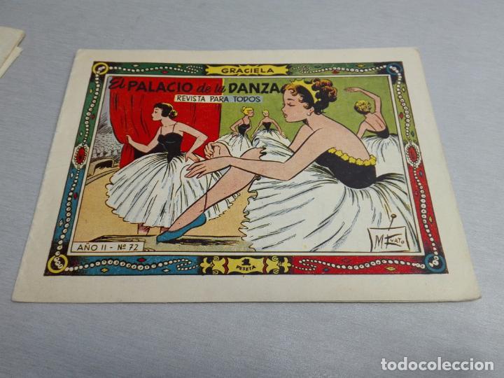 Tebeos: GRACIELA / LOTE CON 18 NÚMEROS / TORAY 1956 - 196 - Foto 4 - 153129414