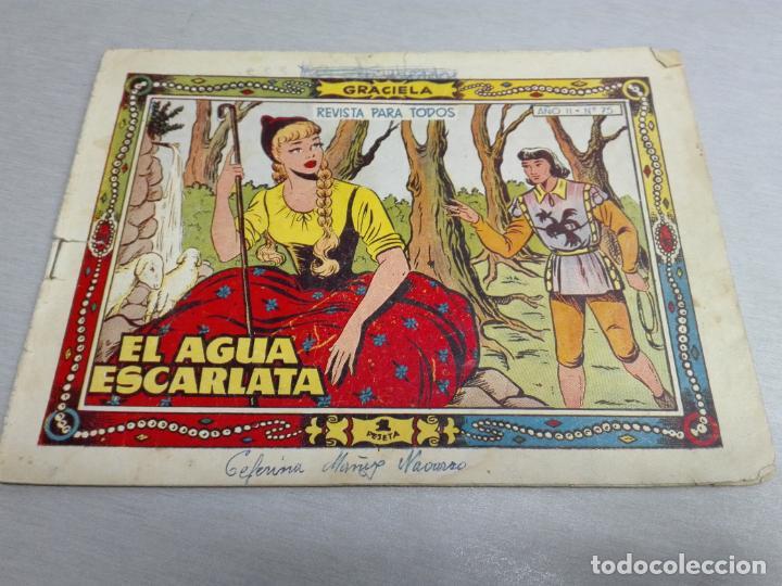Tebeos: GRACIELA / LOTE CON 18 NÚMEROS / TORAY 1956 - 196 - Foto 5 - 153129414