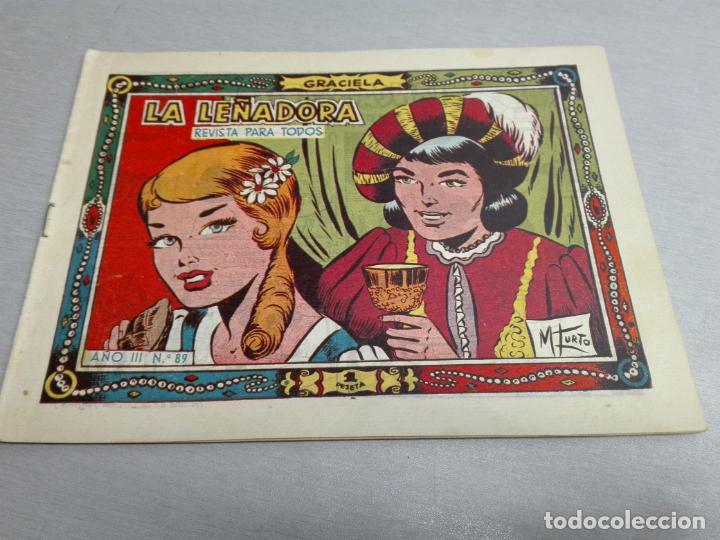 Tebeos: GRACIELA / LOTE CON 18 NÚMEROS / TORAY 1956 - 196 - Foto 6 - 153129414