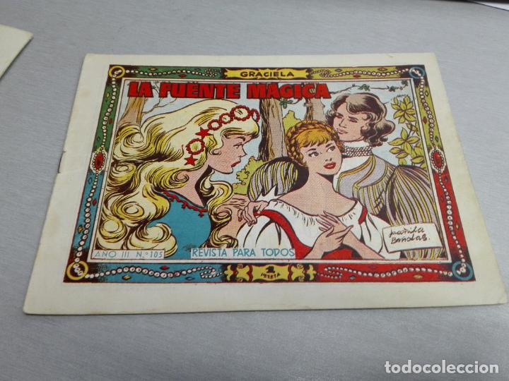 Tebeos: GRACIELA / LOTE CON 18 NÚMEROS / TORAY 1956 - 196 - Foto 8 - 153129414