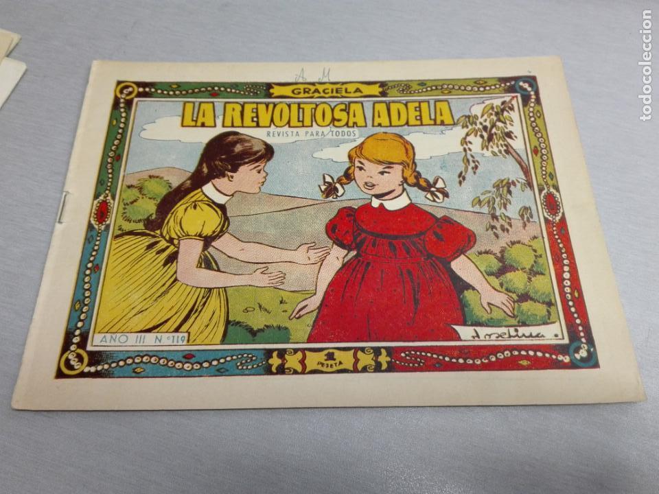 Tebeos: GRACIELA / LOTE CON 18 NÚMEROS / TORAY 1956 - 196 - Foto 11 - 153129414