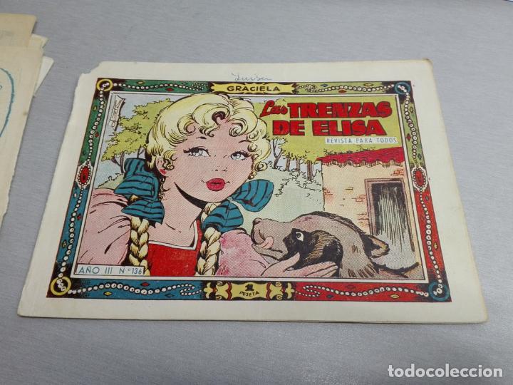 Tebeos: GRACIELA / LOTE CON 18 NÚMEROS / TORAY 1956 - 196 - Foto 13 - 153129414