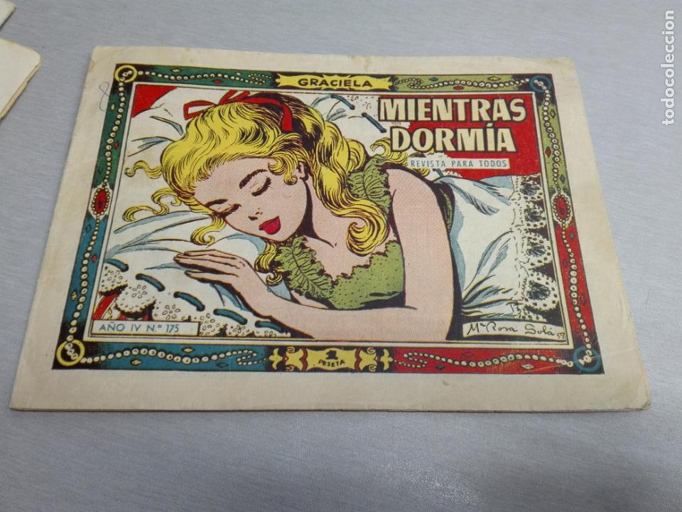 Tebeos: GRACIELA / LOTE CON 18 NÚMEROS / TORAY 1956 - 196 - Foto 15 - 153129414