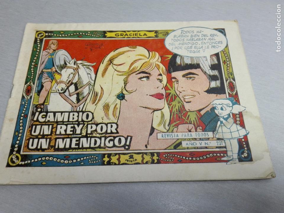 Tebeos: GRACIELA / LOTE CON 18 NÚMEROS / TORAY 1956 - 196 - Foto 17 - 153129414