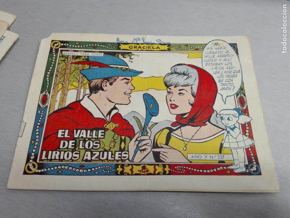 Tebeos: GRACIELA / LOTE CON 18 NÚMEROS / TORAY 1956 - 196 - Foto 18 - 153129414
