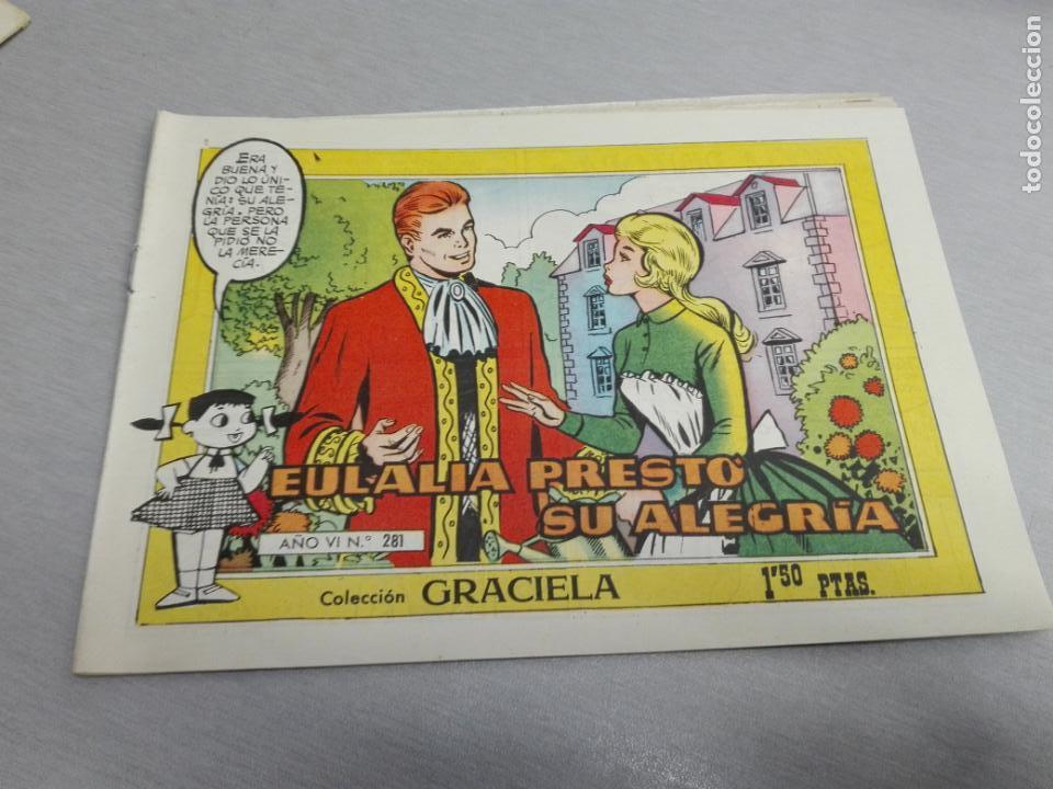 Tebeos: GRACIELA / LOTE CON 18 NÚMEROS / TORAY 1956 - 196 - Foto 22 - 153129414