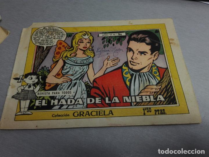 Tebeos: GRACIELA / LOTE CON 18 NÚMEROS / TORAY 1956 - 196 - Foto 24 - 153129414