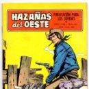 Tebeos: HAZAÑAS DEL OESTE Nº 163 (TORAY 1968) CONTRAPORTADA ES LÁMINA DE RANDOLPH SCOT.. Lote 153478566